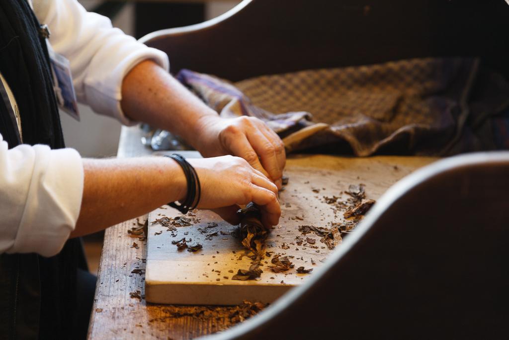 Herstellung von Zigarren